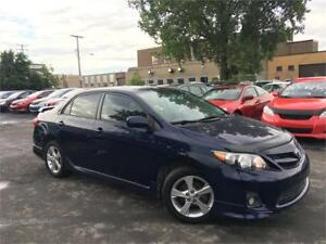 TOYOTA COROLLA S 2011 MANUELLE/AC/MAGS/CRUISE/BLUETOOTH/AUX/USB