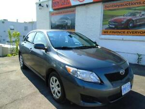 2010 Toyota Corolla AUTOMATIC AIR POWER GROUP WE FINANCE!!