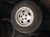 235/75/15 Goodyear Mags Jeep