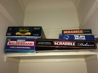 Various board games