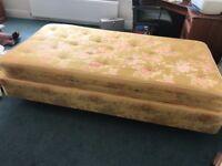 Single Bed - firm mattress