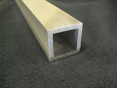 3 Aluminum Square Tube 14 Wall X 12 Long 6061 Tube Mill Finish
