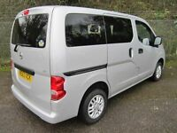 Nissan NV200 1.5 Acenta DCi 90 Turbo Diesel 7 Seater (blade silver) 2014