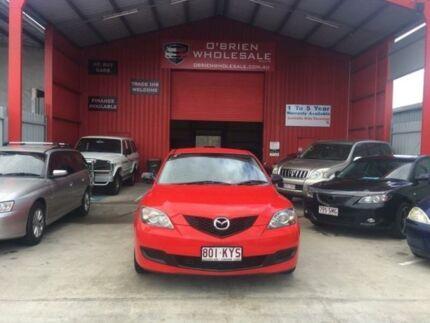 2007 Mazda 3 BK10F2 Neo Red Manual Hatchback