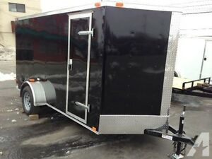 new 2016 5 x 12 +v nose cargo trailer $4900 on the road