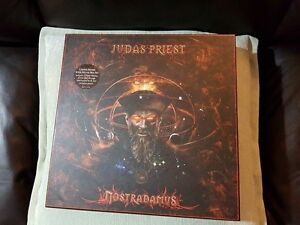 JUDAS PRIEST NOSTRADAMEUS CD VINYL BOXED SET ! BRAND NEW !
