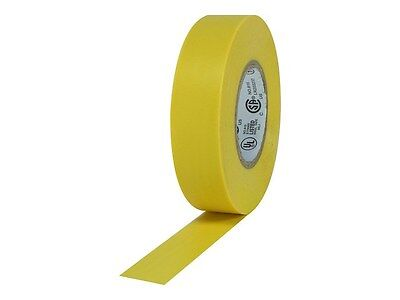 34 60ft Flame Retardant Yellow Vinyl Electrical Tape Ul Heavy Duty Pvc Vinyl