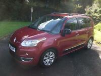 CITROEN C3 PICASSO 1.6 PICASSO EXCLUSIVE HDI 5d 90 BHP (red) 2010