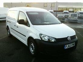 Volkswagen Caddy C20 TDI 102PS VAN MAXI DIESEL MANUAL WHITE (2013)