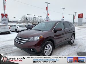 2014 Honda CR-V EX-L- Leather, Sunroof, 2.4L VTEC!