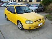 2000 Hyundai Accent Hatchback Wangara Wanneroo Area Preview