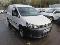 Volkswagen Caddy C20 1.6 Tdi 102Ps Startline Van DIESEL MANUAL WHITE (2014)