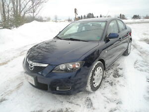 2008 Mazda Mazda3 Gray cloth Sedan