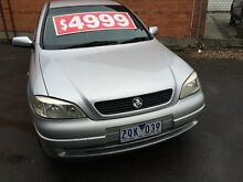 2001 Holden Astra TS Equipe Silver 4 Speed Automatic Hatchback Fawkner Moreland Area Preview