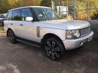 2002 02 LAND ROVER RANGE ROVER 3.0 TD6 HSE AUTOMATIC 4X4 ESTATE DIESEL