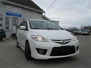 2010 Mazda5 GClean Carproof One Owner Leather Sunroof 6 Seats