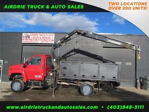 2008 GMC C5500 HIAB 088 PICKER CRANE!