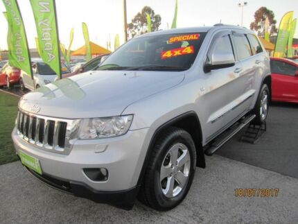 2011 Jeep Grand Cherokee WK MY11 Laredo Silver 6 Speed Auto Active Select Wagon