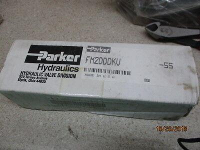 Parker Hydraulics Fm2dddku Fine Metering Flow 1128255m Nib