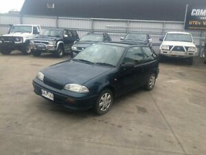 1997 Suzuki Swift CINO Cino 5 Speed Manual Hatchback Lilydale Yarra Ranges Preview