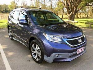 2012 Honda CR-V RM VTi-L 4WD Blue 5 Speed Automatic Wagon Stapylton Gold Coast North Preview