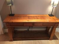 Solid Hardwood Console/Hall Table