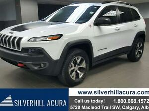 2014 Jeep Cherokee Trailhawk 4dr 4x4 *Pan Roof, Leather, Navi, H