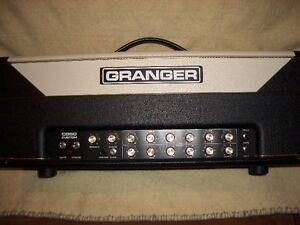 AMPLI BOUTIQUE GRANGER CUSTOM CG50 WATTS 2 CANAUX COMME NEUF
