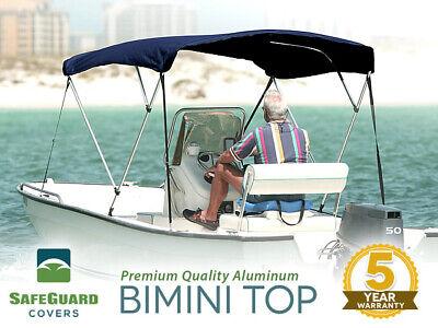 SafeGuard Premium Bimini Top 3 Bow with all Hardware 6' x 46