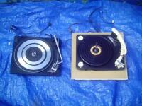 2 Garrard turn tables