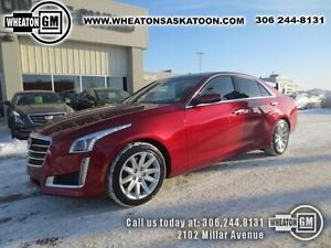 2015 Cadillac CTS Sedan Luxury AWD with Navigation and Sunroof