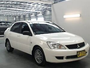 2007 Mitsubishi Lancer CH MY07 ES White 5 Speed Manual Sedan Beresfield Newcastle Area Preview