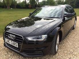 2014 (64) Audi A4 Avant 2.0TDI 150PS Avant S Line ONLY 24,500 MILES IMMACULATE