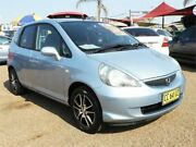 2006 Honda Jazz GD MY06 VTi Blue 5 Speed Manual Hatchback Colyton Penrith Area Preview