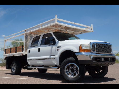 2000 ford f250 crewcab lifted 4x4 diesel 4wd arizona one owner flatbed used ford f 250. Black Bedroom Furniture Sets. Home Design Ideas