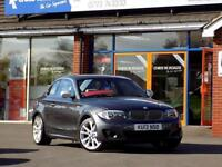 2013 13 BMW 1 SERIES 2.0 118D EXCLUSIVE EDITION 2DR (140) FULL LEATHER DIESEL