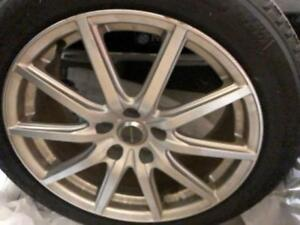 Infiniti 18 inch Snow tires on alloy rims