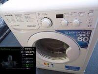 EX-DISPLAY WHITE 8 KG 1400 SPIN INDESIT WASHING MACHINE REF: 13331
