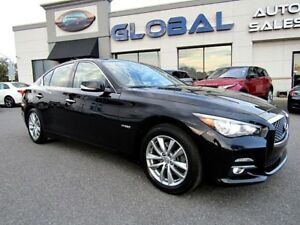 2014 Infiniti Q50 AWD HYBRID NAV. TOUCH SCREEN .