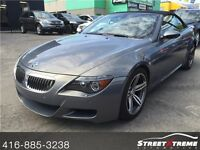 2007 BMW 6-SERIES M6 CONVERTIBLE w/ NAVI, VOICE CONTROL, LEATHER