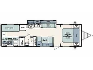 **$115 b/w (oac)** 4919 lbs, TRIPLE BUNKS, SLIDE, EXT KITCHEN! Edmonton Edmonton Area image 2