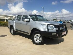 2014 Holden Colorado RG MY15 LS Crew Cab Silver 6 Speed Sports Automatic Cab Chassis Garbutt Townsville City Preview