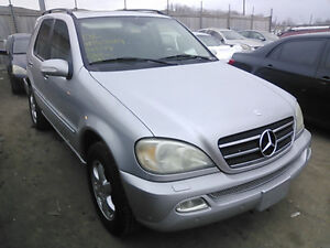 2002 Mercedes-Benz M-Class Sport SUV, Crossover