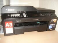 Brother MFC-J6510DW A3 and A4 copier, scanner, printer and fax