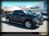 2015 Ram 1500 Sport loaded! Leather and Sport Hood!