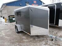 2016  RANCE ALL ALUMINUM 5 X 8 AND  5 X 10  CARGO TRAILER