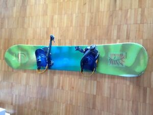 K2 Snow board(143cm)  & Burton Boots(size 260mm)