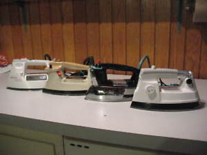Clothes Irons and Ironing Board