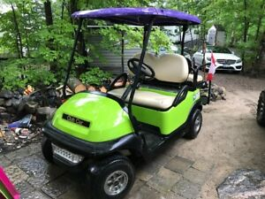 Custom Painted CLUB CAR PRECEDENT Golf Cart -EXCELLENT SHAPE!