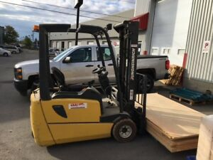 """Battery forklift 4100 lbs 196"""" max height"""
